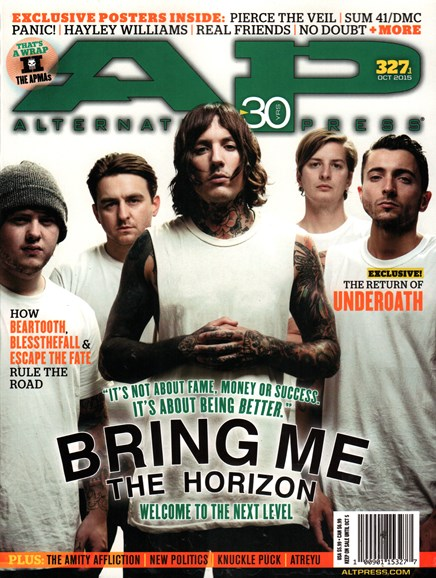 Alternative Press Cover - 10/1/2015