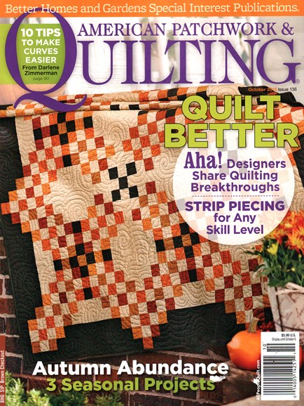 American Patchwork & Quilting Cover - 10/1/2015