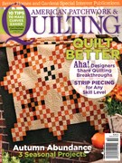 American Patchwork & Quilting Magazine 10/1/2015