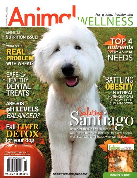 Animal Wellness Cover - 10/1/2015