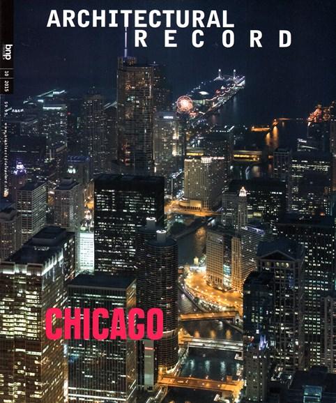 Architectural Record Cover - 10/1/2015