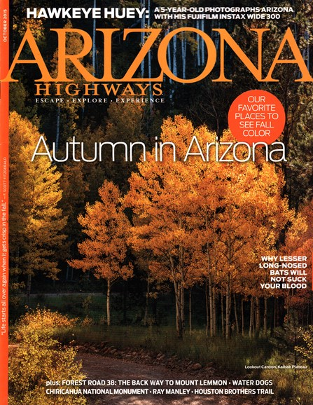 Arizona Highways Cover - 10/1/2015