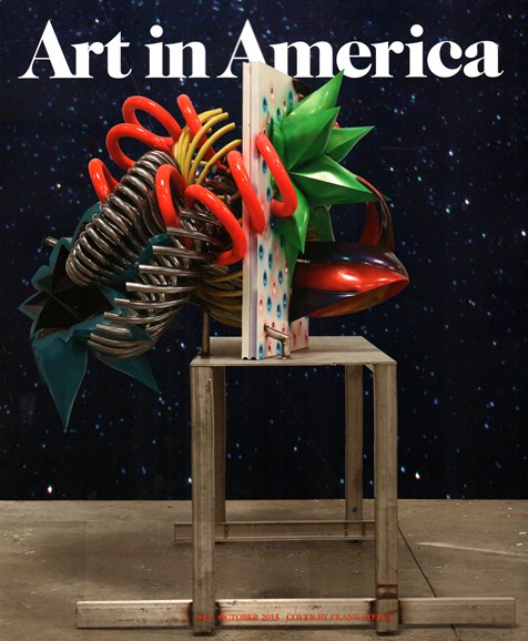 Art In America Cover - 10/1/2015