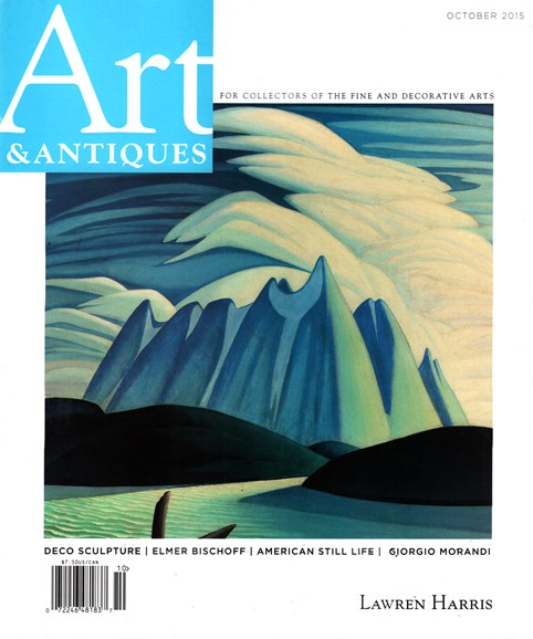 Art & Antiques Cover - 10/1/2015