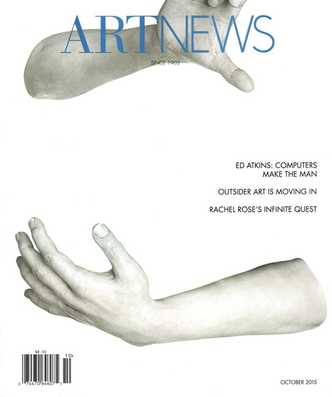 ARTnews Cover - 10/1/2015