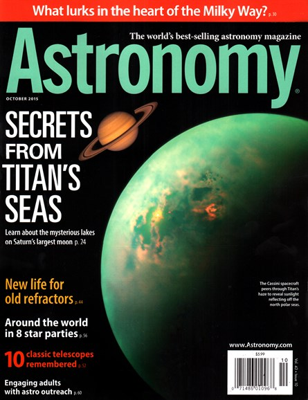 Astronomy Cover - 10/1/2015