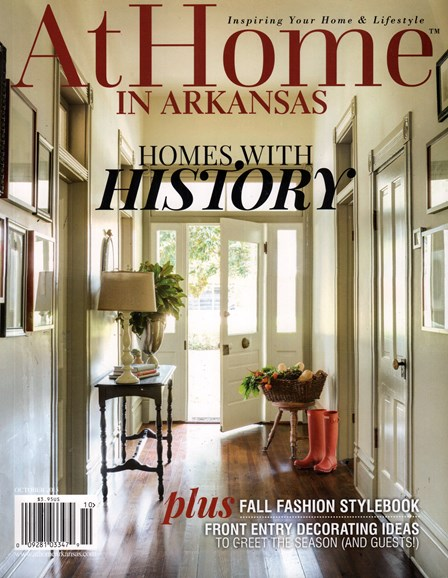 At Home In Arkansas Cover - 10/1/2015