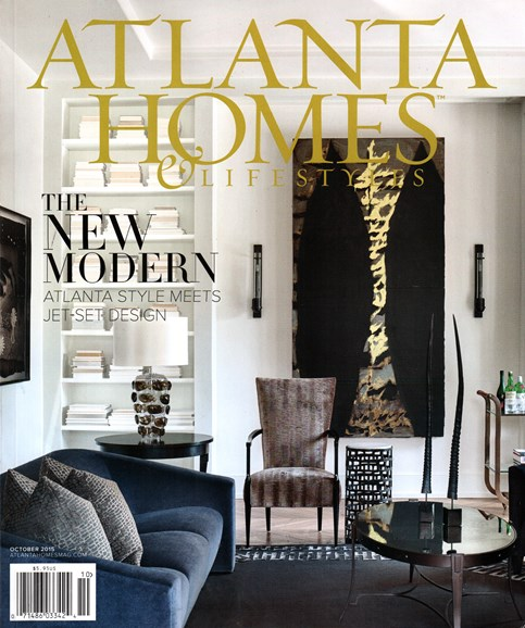 Atlanta Homes & Lifestyles Cover - 10/1/2015