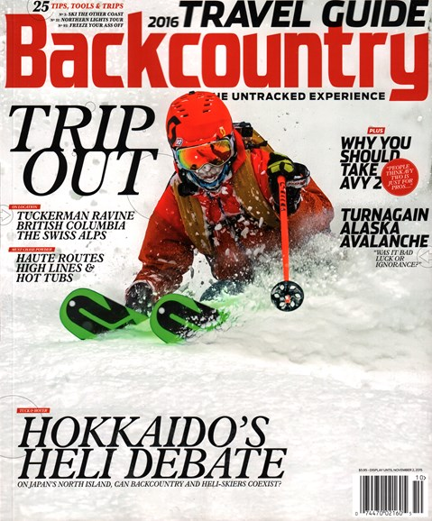 Backcountry Cover - 10/1/2015