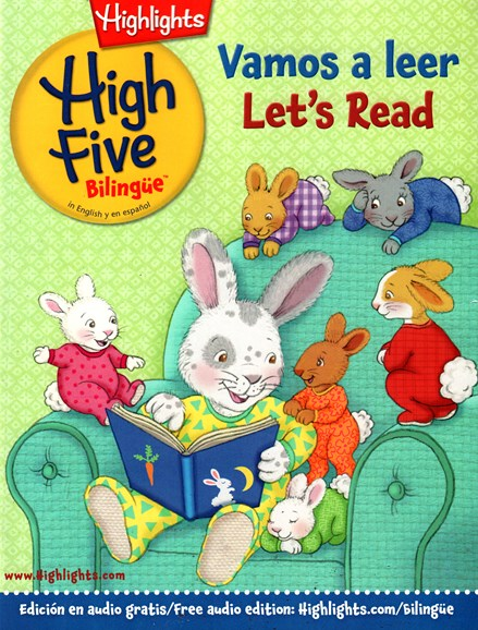 Highlights High Five Bilingue Cover - 10/1/2015