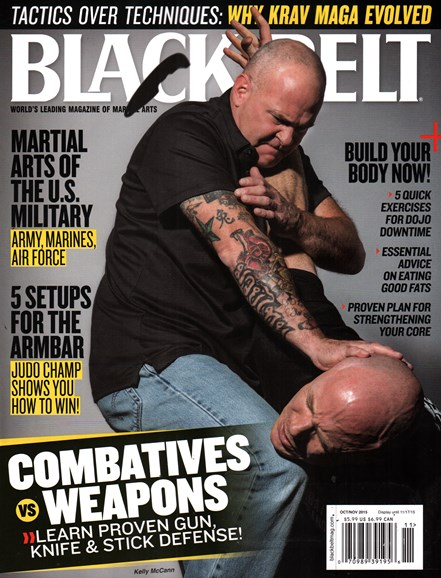 Black Belt Magazine Cover - 10/1/2015