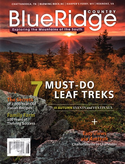 Blue Ridge Country Cover - 10/1/2015