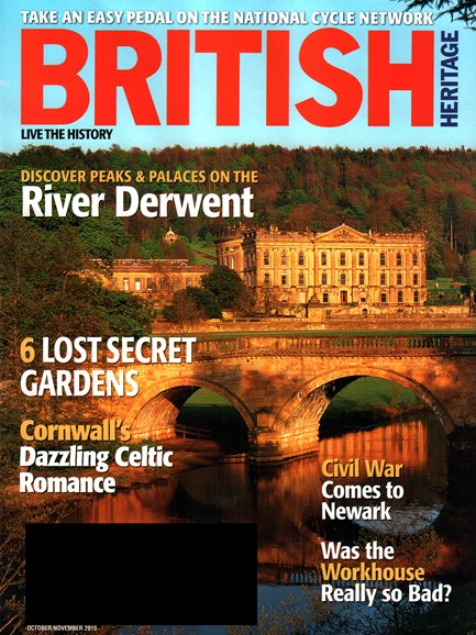British Heritage Travel Cover - 10/1/2015