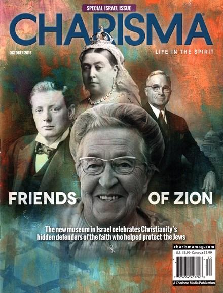 Charisma Cover - 10/1/2015