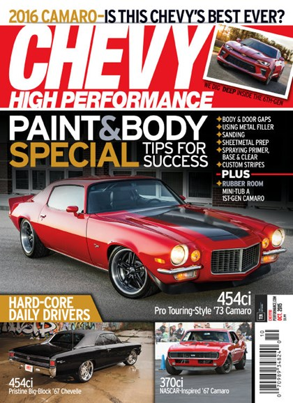 Chevy High Performance Cover - 10/1/2015