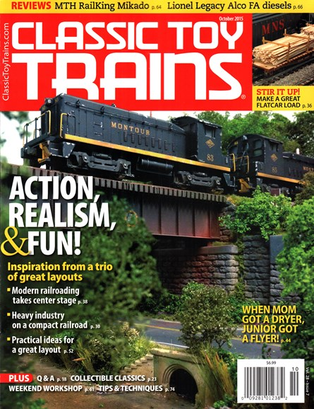 Classic Toy Trains Cover - 10/1/2015