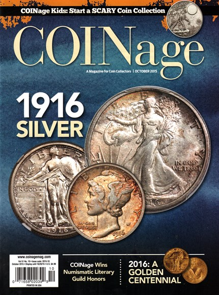 Coinage Cover - 10/1/2015