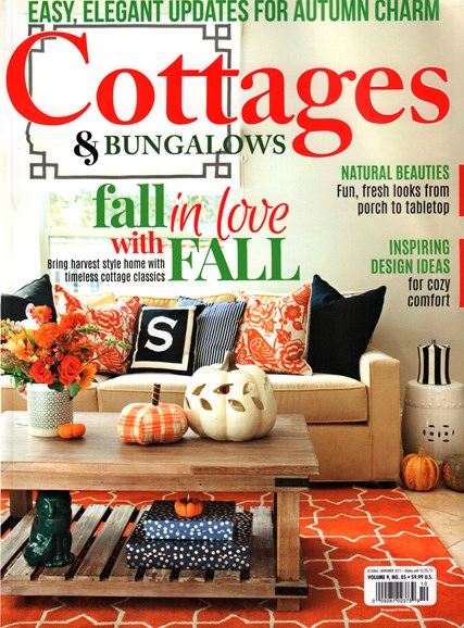 Cottages & Bungalows Cover - 10/1/2015