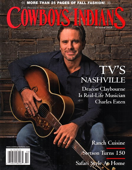 Cowboys & Indians Cover - 10/1/2015