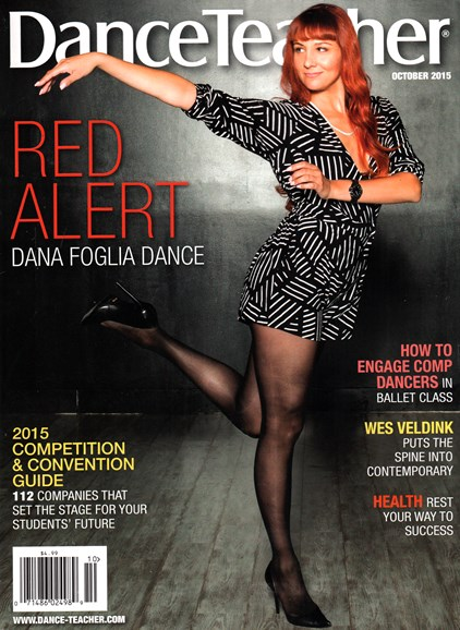 Dance Teacher Cover - 10/1/2015