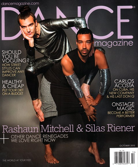 Dance Magazine Cover - 10/1/2015