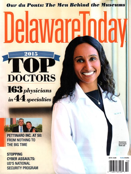 Delaware Today Cover - 10/1/2015