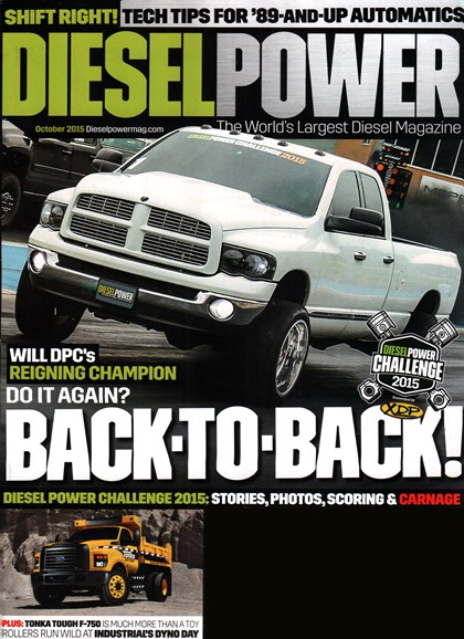 Diesel Power Cover - 10/1/2015