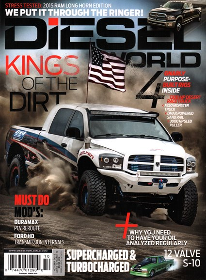 Diesel World Cover - 10/1/2015