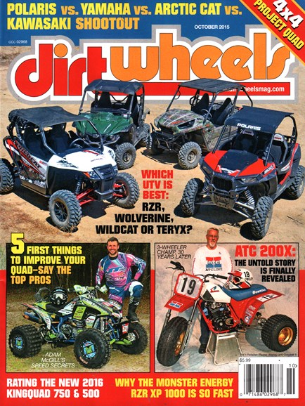 Dirt Wheels Cover - 10/1/2015
