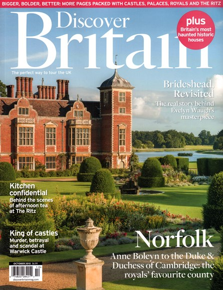 Discover Britain Cover - 10/1/2015