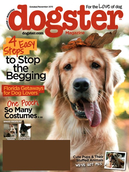 Dogster Cover - 10/1/2015