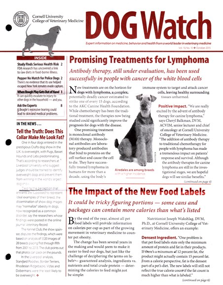 Dogwatch Cover - 10/1/2015