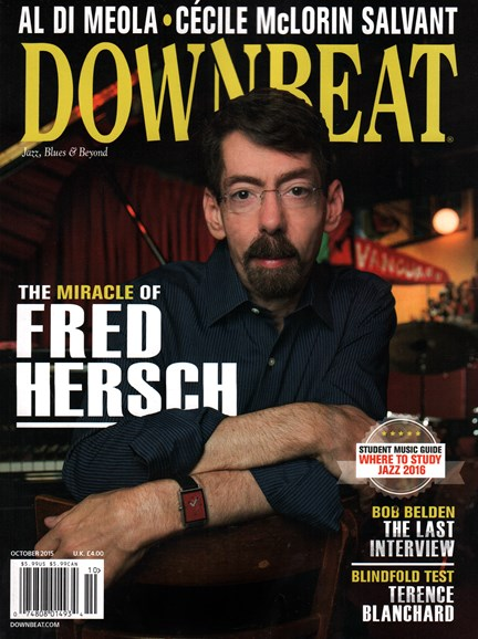 DownBeat Cover - 10/1/2015