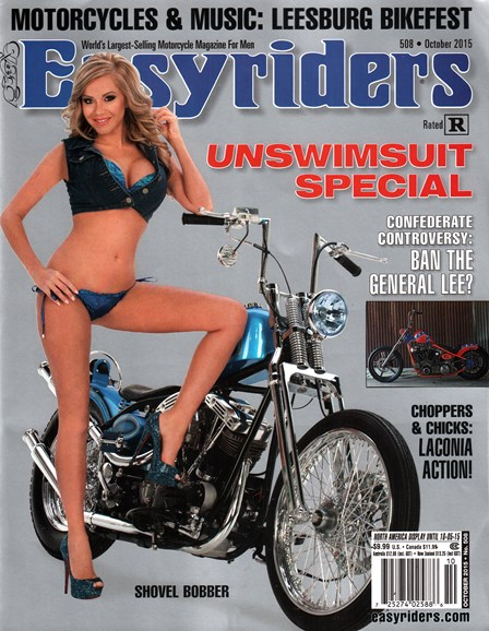 Easyriders Cover - 10/1/2015
