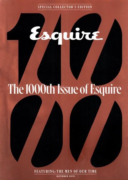Esquire Cover - 10/1/2015