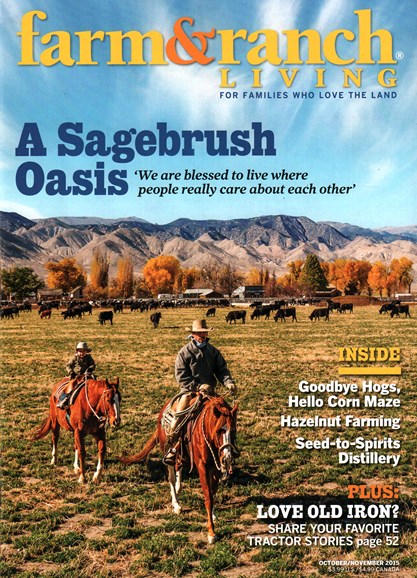 Farm & Ranch Living Cover - 10/1/2015