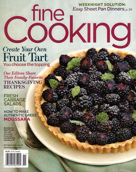 Fine Cooking Cover - 10/1/2015