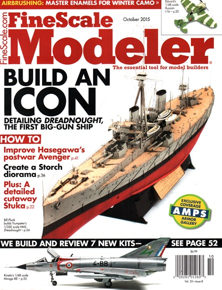 Finescale Modeler Cover - 10/1/2015