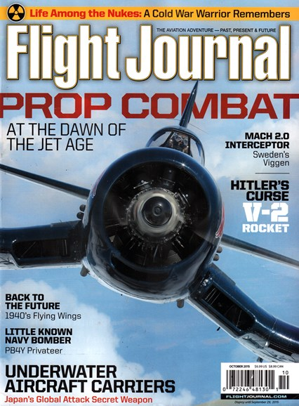 Flight Journal Cover - 10/1/2015