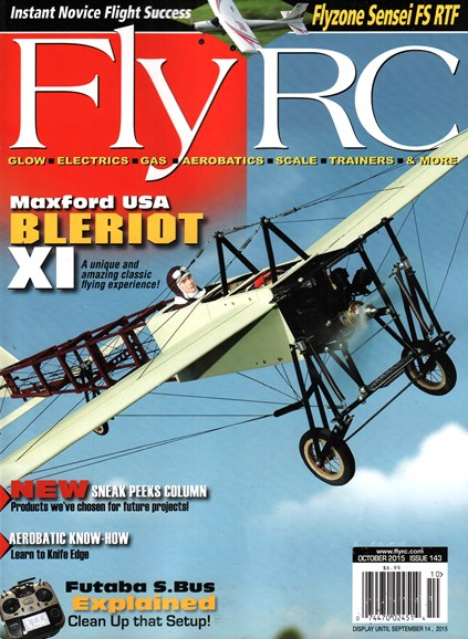 Fly RC Cover - 10/1/2015
