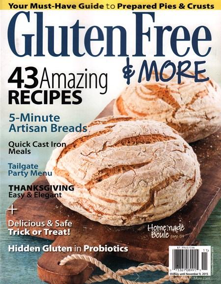 Gluten Free & More Cover - 10/1/2015