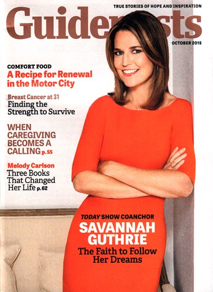 Guideposts Cover - 10/1/2015