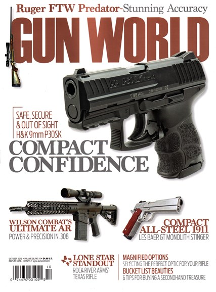 Gun World Cover - 10/1/2015