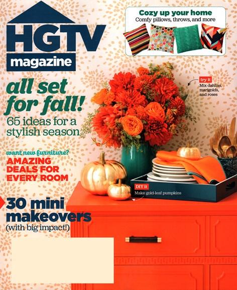 HGTV Cover - 10/1/2015