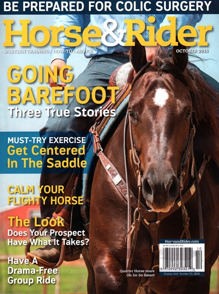 Horse & Rider Cover - 10/1/2015