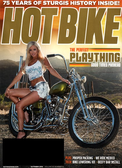 Hot Bike Cover - 10/1/2015