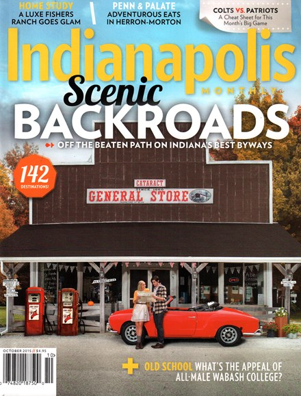 Indianapolis Monthly Cover - 10/1/2015