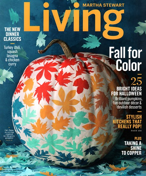 Martha Stewart Living Cover - 10/1/2015
