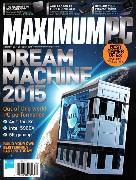 Maximum PC Cover - 10/1/2015