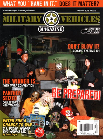 Military Vehicles Cover - 10/1/2015